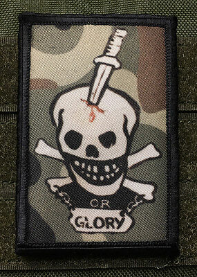 Aliens Death or Glory Morale Patch Colonial Marines Tactical Military Army Flag