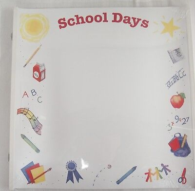 Creative Memories 12x12 Old Style School Days Pages 15 Sheets RCM-12SD NIP