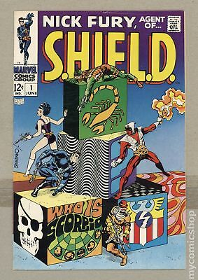 Nick Fury Agent of SHIELD (1968 1st Series) #1 FN 6.0