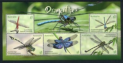 2017 Dragonflies -  MUH Mini Sheet