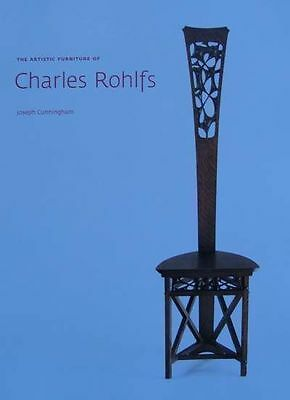 LIVRE : CHARLES ROHLFS - The Artistic Furniture (mobilier arts & crafts