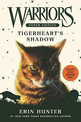 Warriors Super Edition: Tigerheart's Shadow by Erin Hunter Hardcover Book Free S