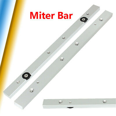 300M Aluminium Alloy Rail Miter Bar Slider Table Saw Gauge Rod Woodworking Tool