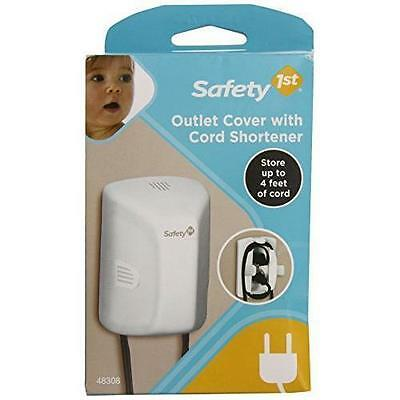 G37 Safety FIRST 1st Outlet Cover & Cord Shortener New 48308