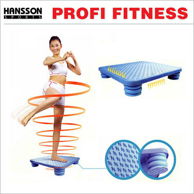 HS Profi Fitness Stepper Balance Brett Therapie Reha