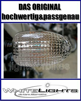 White Clear Indicator Glasses Rear BMW R 1100 S K 1200 RS Clear Signals Rear