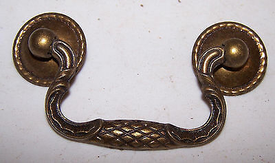 "9 Vintage DRAWER PULLS 2.5"" On Center - Matching Set"