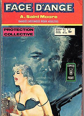 Face D'ange 15 Protection Collective Adam Saint Moore Aredit 1976