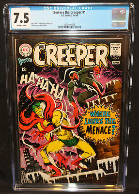 Beware the Creeper #1 - Steve Ditko Art - CGC Grade 7.5 - 1968