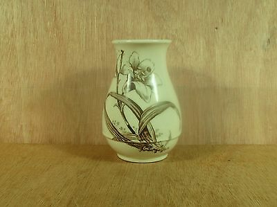 "Antiques James Hadley & Sons J.H S Forcing Lily Bulb Vase 5 1/2"" High"