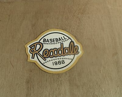 Baseball Rexdale 1968 Major League Baseball Club Felt Jacket Patch