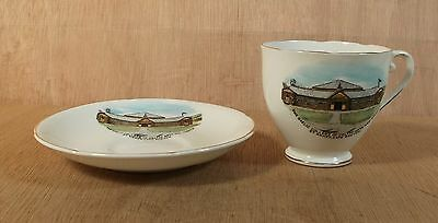 The Gaelic Colledge of St Anne's Cape Breton Eastern Canada Cup & Saucer