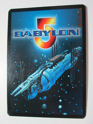Babylon 5 Ccg Fixed & Rare Cards - Prem., Del. Ed., Shad, And Grt War - Pick Two