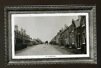 LEITHOLM  Scotland  Road with Houses - Horse & Cart  RP