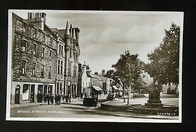 KIRKWALL  ORKNEY  Broad Street  with shops and people  RP