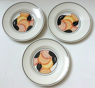 3 x Midwinter Pottery side plates