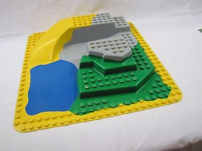 "Lego Duplo 3D ZOO BASE PLATE BUILDING BOARD Baseplate 15"" x 15"" #2295 Pond Slide"