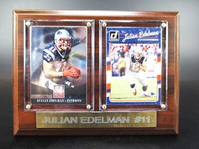 Julian Edelman New England Patriots Holz Wandbild 20 cm,Plaque NFL Football !!