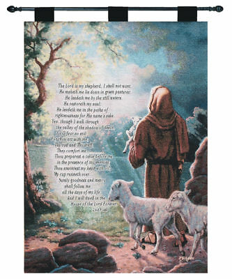 The Lord Is My Shepherd Tapestry Wall Hanging