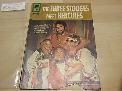 Dell Three Stooges Meet Hercules  #01-828-208 1962 Silver Age Comic Book Estate