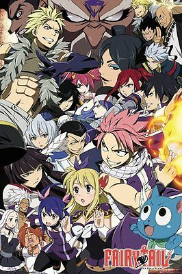 FP4544 FAIRY TAIL Season 6 Key Art MAXI POSTER SIZE 91.5 x 61cm