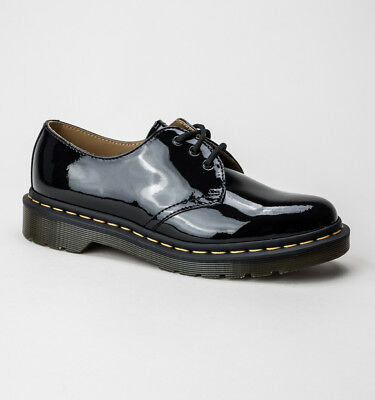 Dr Martens 1461 Black Smooth Shoes