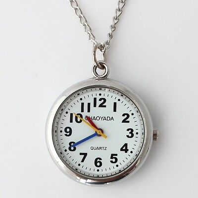 High Quality Pocket Watch Necklace Quartz Pendant Watch Party Gift Bag GL56
