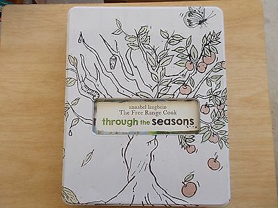 Annabel Langbein~The Free Range Cook~Through The Seasons~Cookbook in a Tin