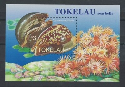 1996 Tokelau Islands Sea Shells SG 254 Muh MS