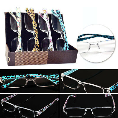 High-Grade 4 designs Leopard 1.00 - 4.00 Diopter New Fashion Reading Glasses