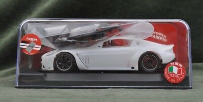 NSR1158AW Aston Martin ASV New White Unpainted Kit 1/32nd runs on Scalextric