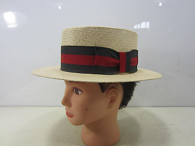 Dorfman Pacific Straw Boaters Hat