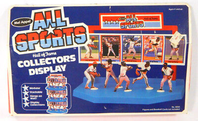 1988 Mel Appel All Sports Hall of Fame Collectors Display in Box