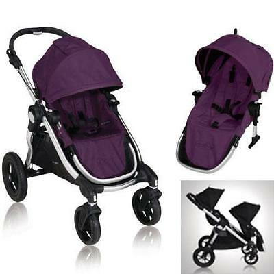 Baby Jogger 81268KIT2 City Select Stroller with Second Seat - Amethyst