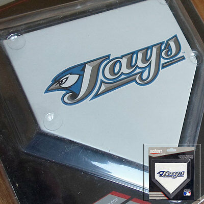 2 x Toronto Blue Jays MLB Authentic Pocket Mini Home Plate Coasters