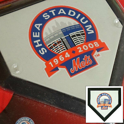 2 x New York Mets Shea Stadium MLB Authentic Pocket Mini Home Plate Coasters