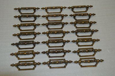 New Lot of 21 Vintage Brass Drawer Handles