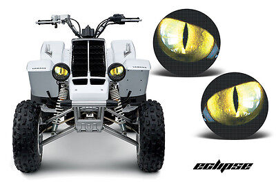 Amr Racing Headlight Eye Graphic Decal Yamaha Banshee Yfz 350 Atv Parts  Eclipse