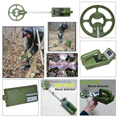 Underground Explore and Gold Metal Detector Green Treasure Jewelry Coin Search
