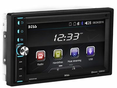 "BV9370B Double DIN Bluetooth In-Dash Digital Media Car Stereo 6.5"" Touchscreen"