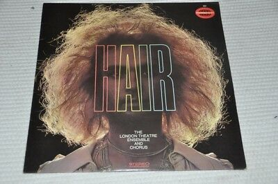 Soundtrack Musical - Hair - London Ensemble - Album Vinyl Schallplatte LP