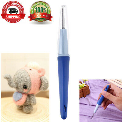 With 3 Needles Wool Embroidery Craft Pen Shape Felted Kit Needle Felting Tool I