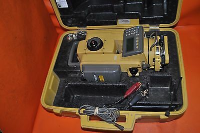 Topcon GRT-2000 Robotic Total Station with Power CABLE & CASE