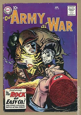Our Army at War (1952) #81 VG 4.0