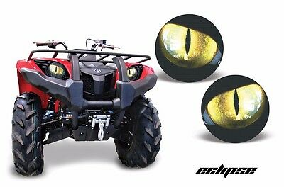 AMR Racing Head Light Eyes Yamaha Grizzly 660/350/400 ATV Headlight Part ECLIP Y