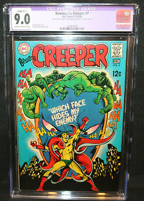 Beware the Creeper #4 - Steve Ditko Art - CGC Restored Grade 9.0 - 1968