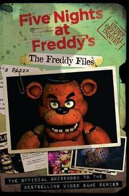 NEW The Freddy Files By Scott Cawthon Paperback Free Shipping