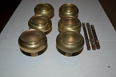 Lot Of  Antique Vintage Aesthetic Eastlake Brass Matching Door Knobs