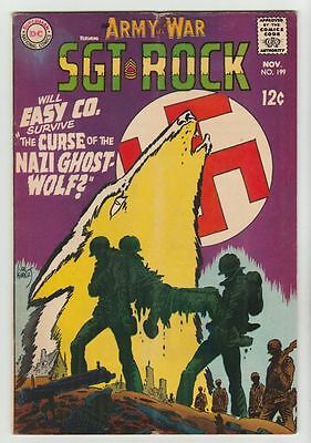 Our Army at War #199 Sgt Rock strict FN/VF- 7.0 High-Grade   Many more up now