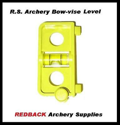 R.S. Archery Bow-Vise Snap on Level